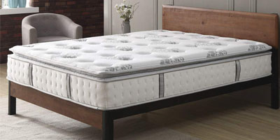 Classic Brands Mercer Pillow-top Hybrid 12-inch Mattress