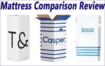 Tuft & Needle vs. Casper vs. Leesa Mattress