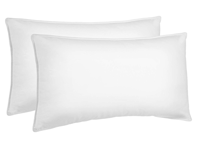 AmazonBasics Down-Alternative Bed Pillows