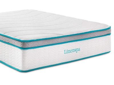 Linenspa Gel Memory Foam Hybrid Mattress