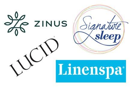 Linenspa vs Lucid vs Zinus vs Signature Sleep