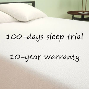 Sleep Trials and Warranty Zinus