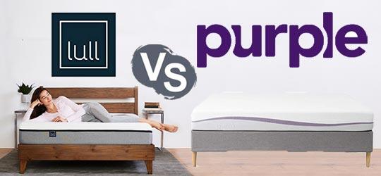 Lull vs. Purple Mattress: Face to Face Comparison