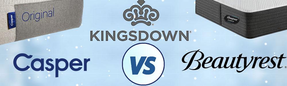 Beautyrest vs Kingsdown vs Casper